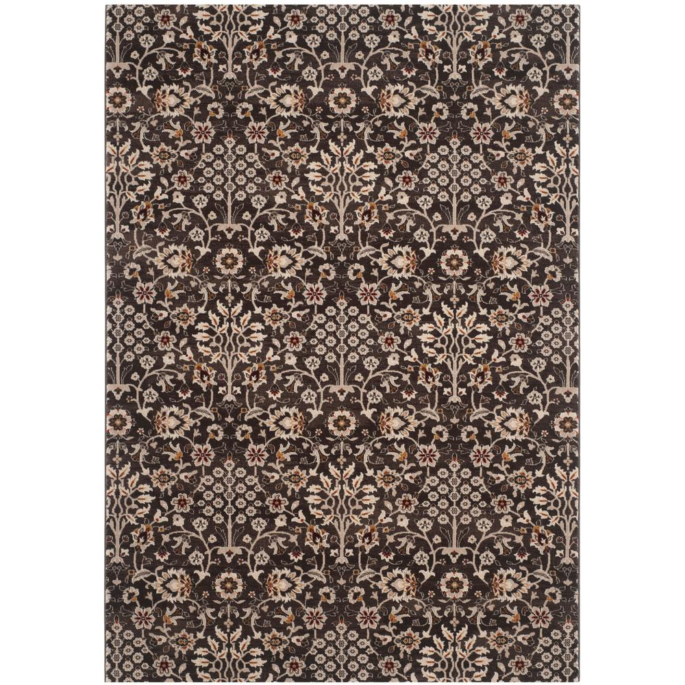 Safavieh Serenity Brown Cream 5 Ft X 8