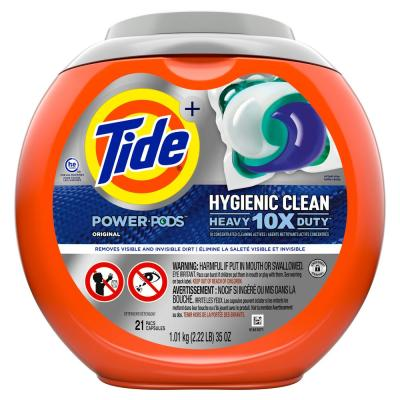 Power Pods Hygienic Clean Heavy Duty Laundry Detergent (21-Count)