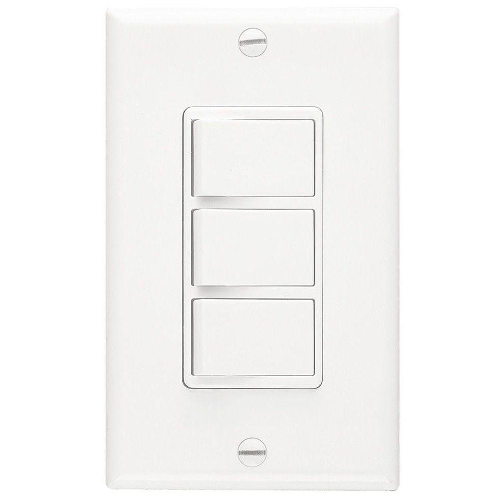 Fan Controls Wiring Devices Light The Home Depot How To Replace A Ceiling Speed Switch Remove 3 Function 15 Amp 20 Total Control