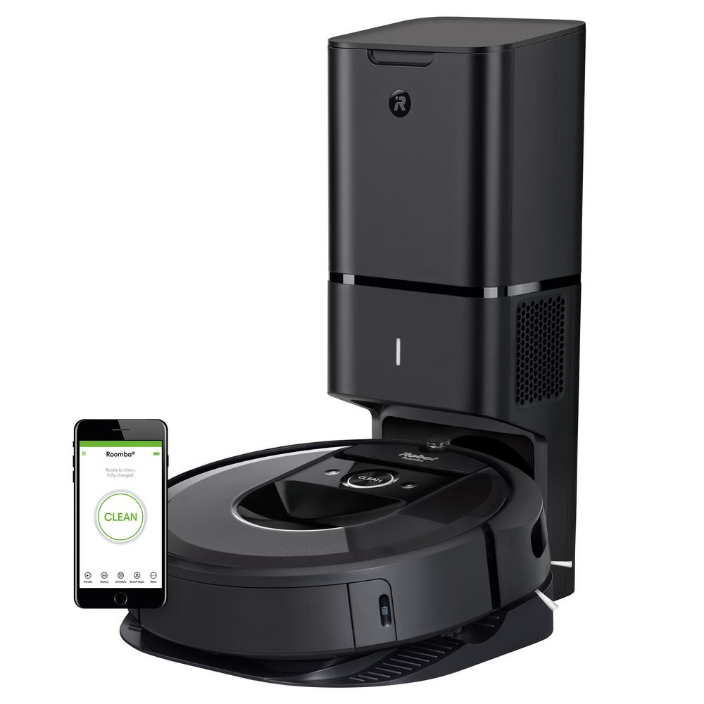 Roomba i7+ Wi-Fi Connected Robot Vacuum with Automatic Dirt Disposal (7550)