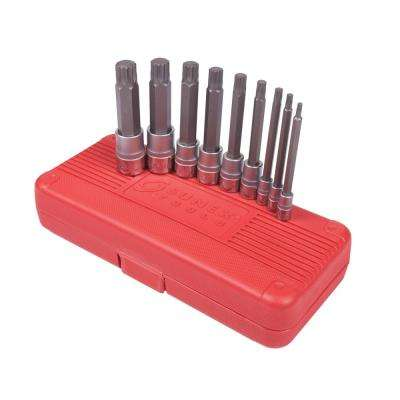 Triple Square Bit Socket Set (9-Piece)