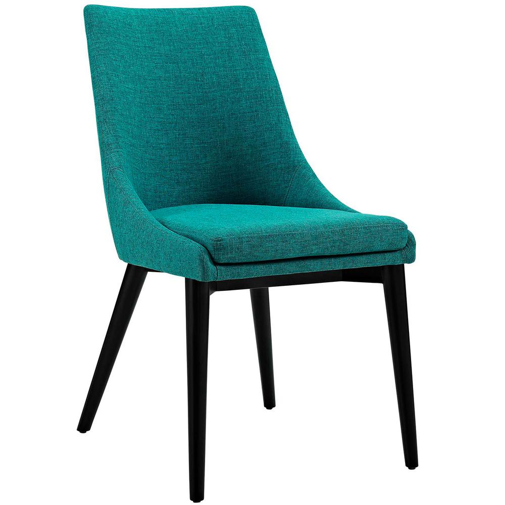 Modway Viscount Teal Fabric Dining Chair Eei 2227 Tea
