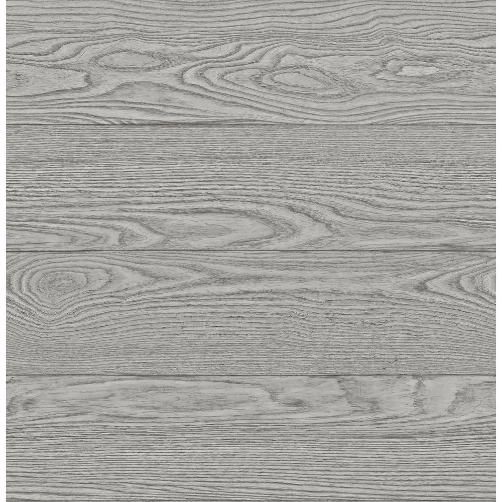 Ravyn Grey Salvaged Wood Wallpaper