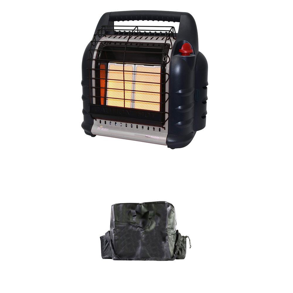 Mr Heater Mh18b 18000 Btu Hunting Big Buddy Propane Gas Heater