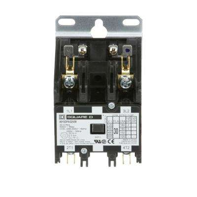 30 Amp 208/240-Volt AC 2 Pole Definite Purpose Contactor (20-Pack)