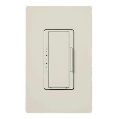 Maestro 1000-Watt Multi-Location Digital Dimmer - Light Almond