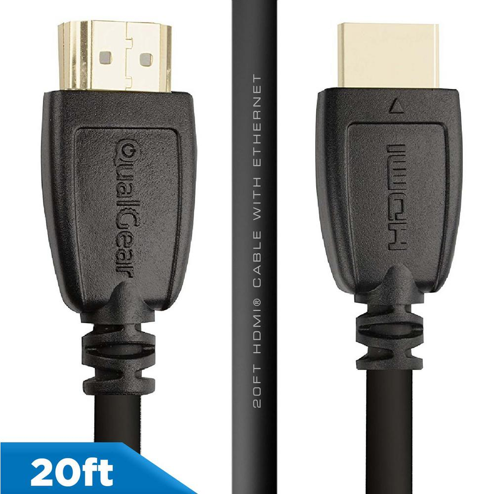 High Speed HDMI 1.4 Cable 6ft~30ft LONG with Ethernet 4K 3D 26 AWG Gold-Plated