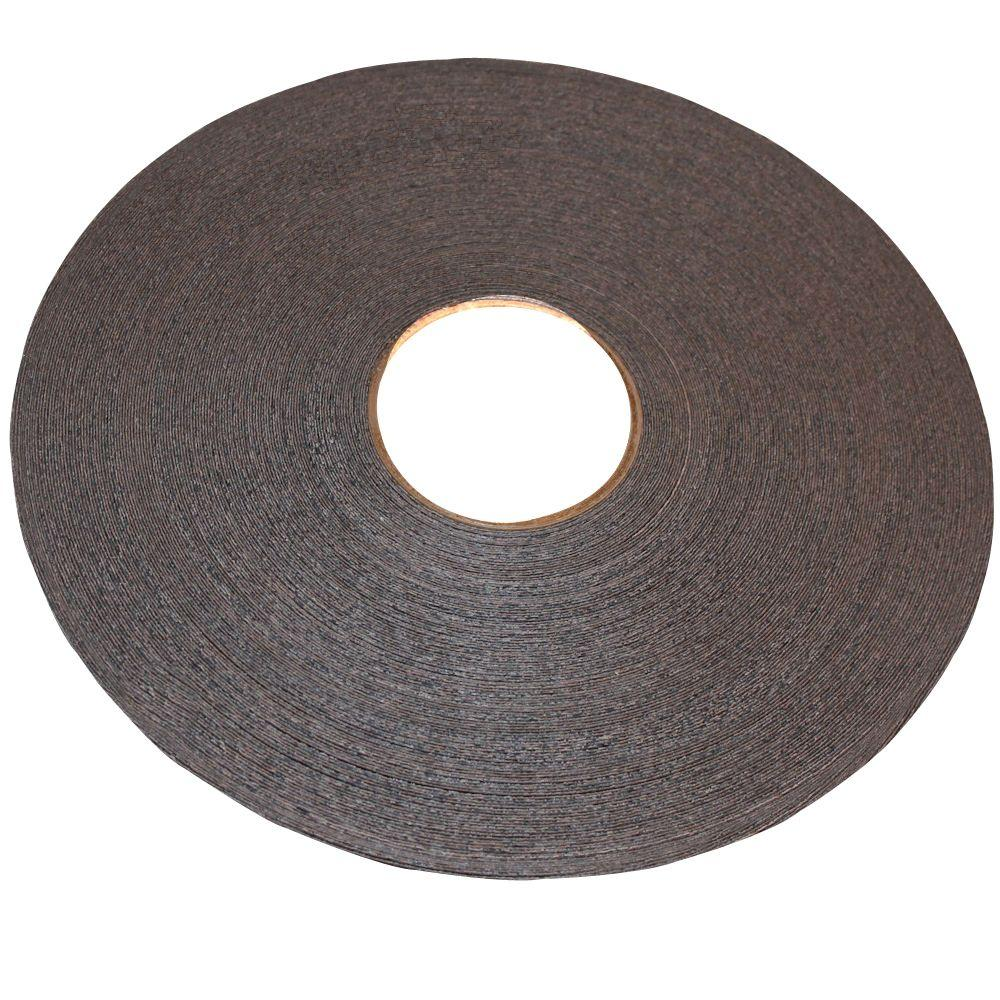 13 16 In X 250 Ft Black Melamine Edgebanding With Hot Melt Adhesive 04black The Home Depot