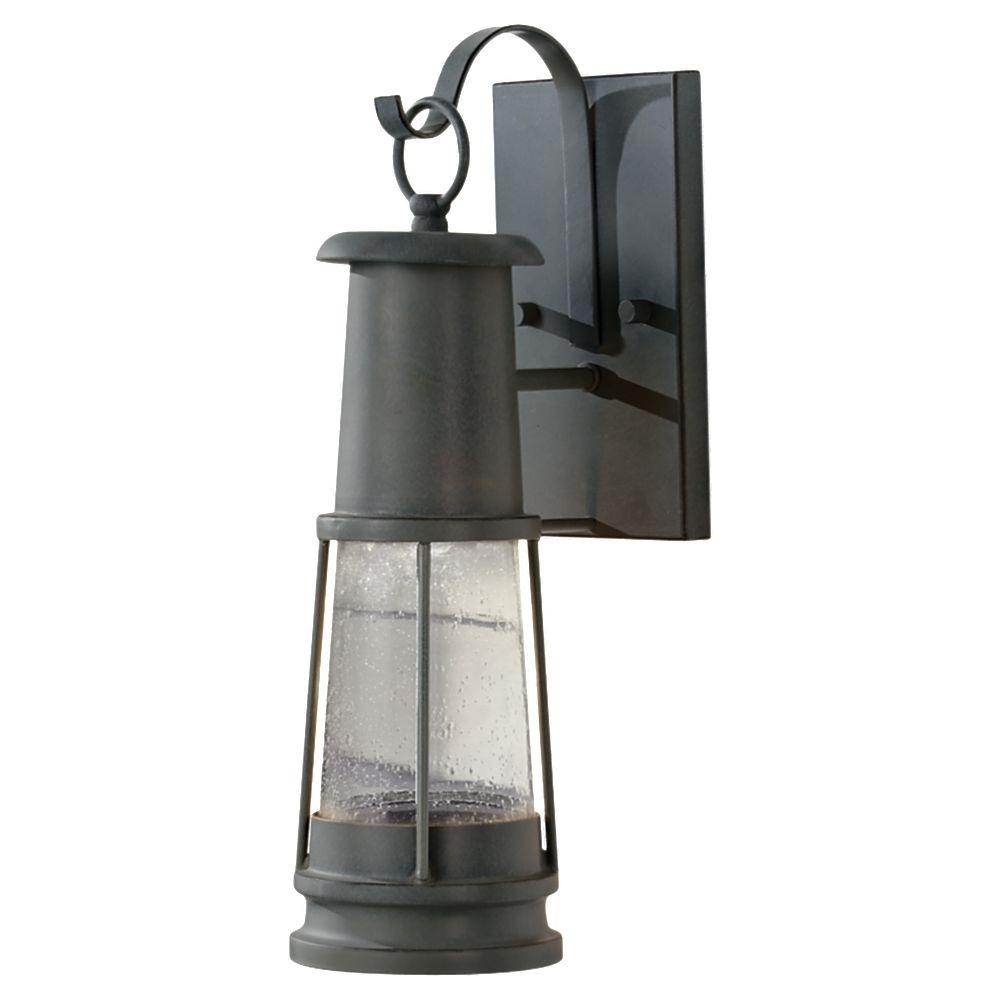 Feiss Chelsea Harbor 1-Light Storm Cloud Outdoor Lantern