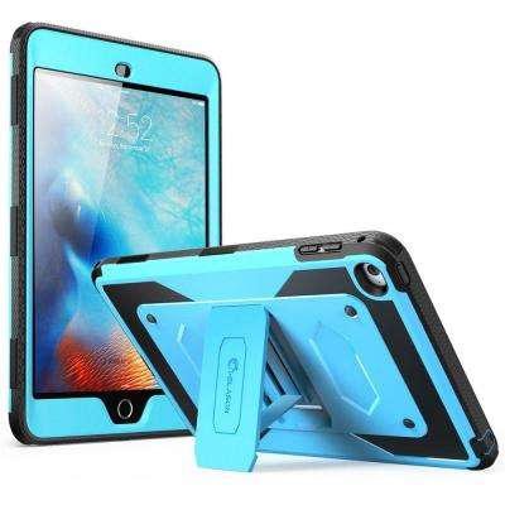 i-Blason Armorbox Full Body Protective Case for Apple iPad Mini 4, Blue