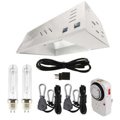630-Watt CMH Ceramic Metal Halide Grow Light Fixture with Built-In Ballast System and 3100K Lamp