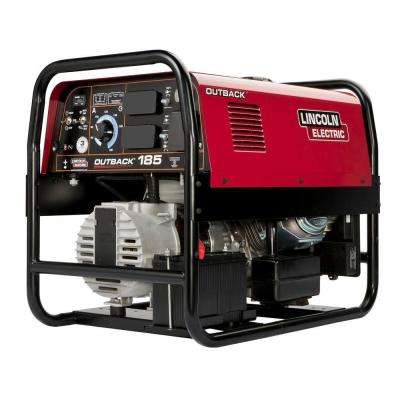 185 Amp Outback 185 Engine Driven DC Stick Welder, 5 7 kW Peak Generator  (Kohler)