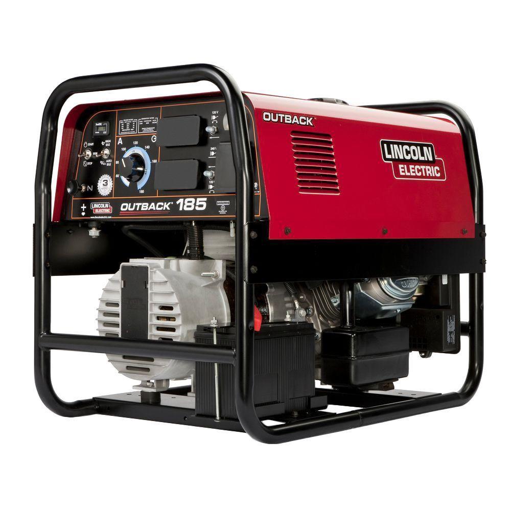 Ac Dc Logo Generator >> Lincoln Electric 185 Amp Outback 185 Engine Driven Welder (Kohler), 5.7 kW Peak AC Generator ...