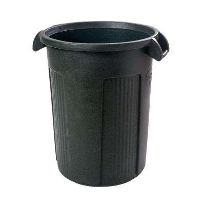 44 Gal. Dark Green Round Trash Can