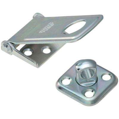 3-1/2 in. Zinc Plate Rotating Post Hasp
