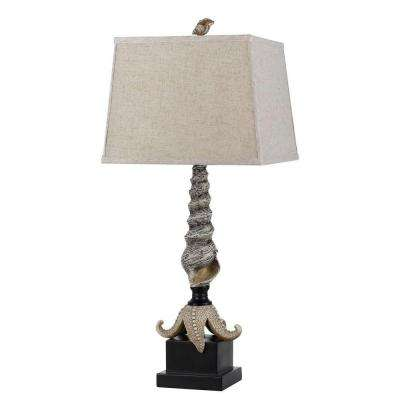 30.75 in. Carapace Starfish Table Lamp
