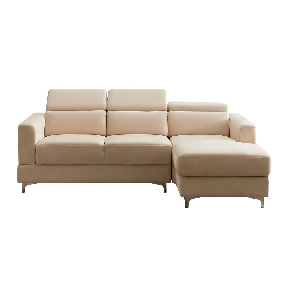 Sectional Sofa Velvet Image