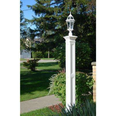 Liberty Lamp Post WH with Mount