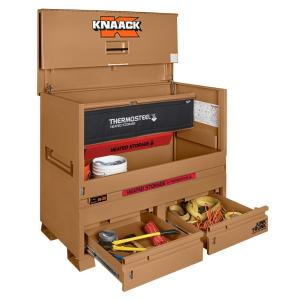 Knaack 36.2 cu. ft. Storagemaster Piano Box with Junk Trunk and ThermoSteel by Knaack