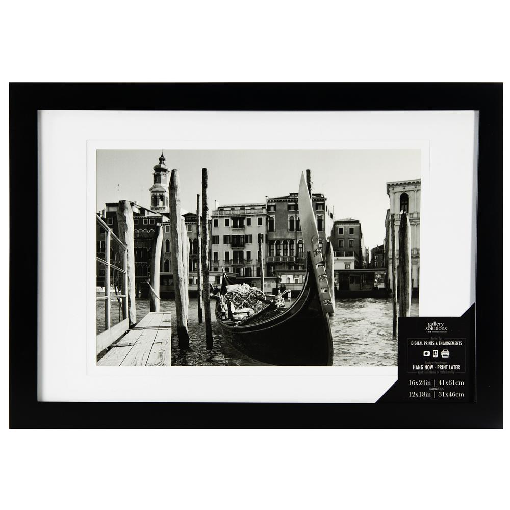 Pinnacle 1 Opening 12 In X 18 In Matted Picture Frame 16fw1049e