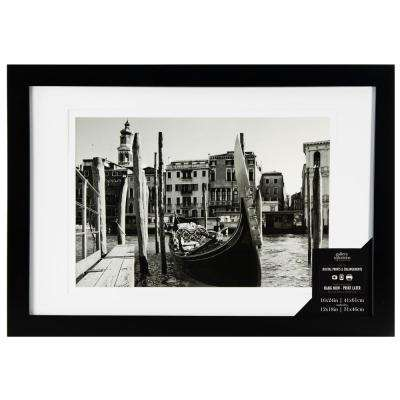 1-Opening 12 in. x 18 in. Matted Picture Frame