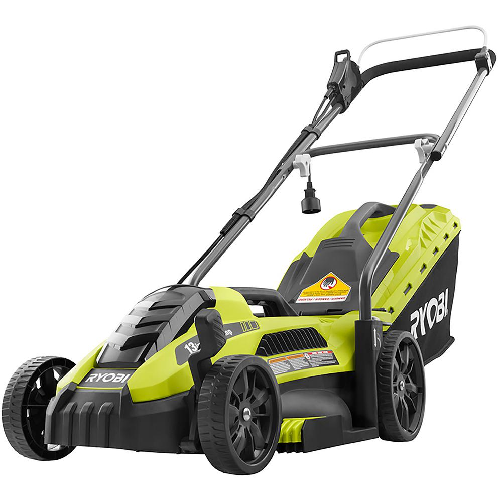 RYOBI RYOBI 13 in. 11 Amp Corded Electric Walk Behind Push Mower