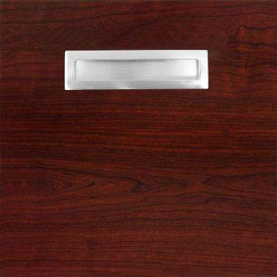 12.75x12.75x.75 in. Genoa Ready to Assemble Cabinet Door Sample in Cherry