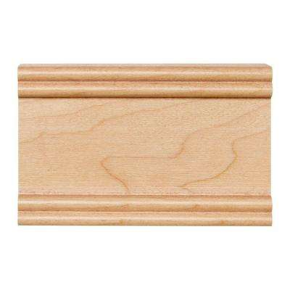 4 in. x 2-1/2 in. Cabinet Door Sample in Maple Natural