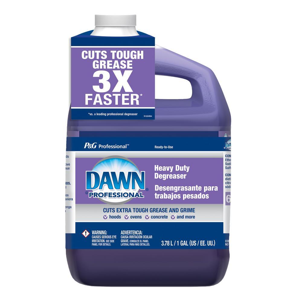 Heavy Duty Degreaser >> Dawn Professional 1 Gal Heavy Duty Degreaser Liquid