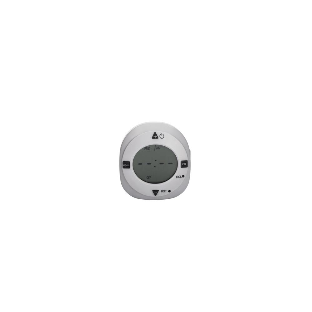 24-Hour Large Display Digital 1-Polarized Outlet Plug-In Timer