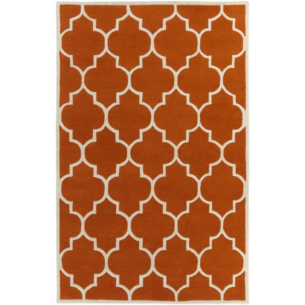 Transit Piper Burnt Orange 8 Ft X 11 Indoor Area Rug