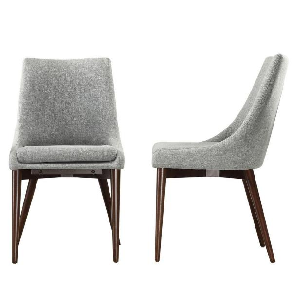 Cool Dining Room Chairs: HomeSullivan Nobleton Cool Grey Dining Chair (Set Of 2