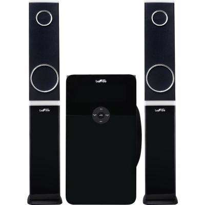 Bluetooth 2.1 Channel Multimedia Wired Speaker Shelf System with SD and USB Input