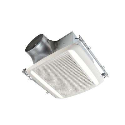 Ultra Green Xb Series 110 Cfm Ceiling Bathroom Exhaust Fan With Led Light Energy Star