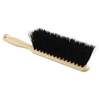8 in. Polypropylene Bristle Counter Brush with Tan Handle