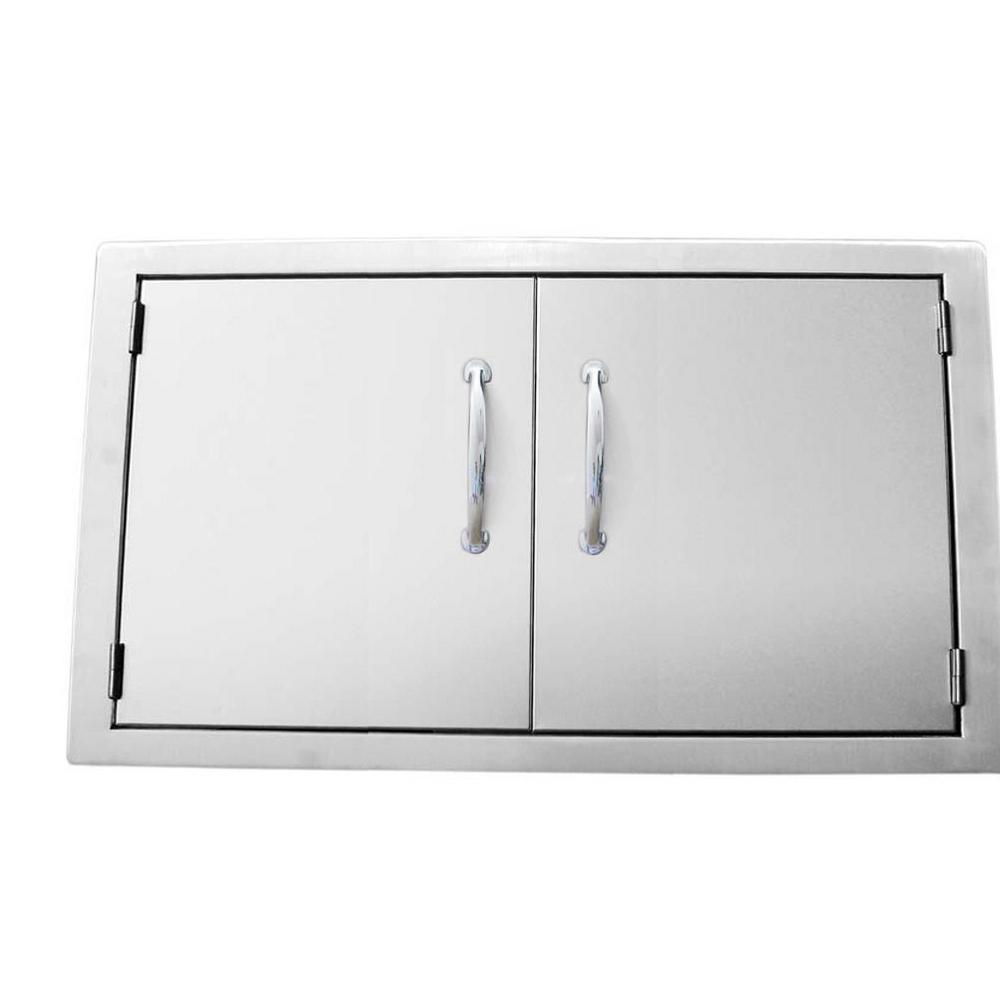 Classic Series 36 in. 304 Stainless Steel Double Access Door