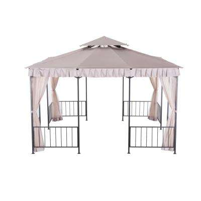 Alouette 11.5 ft. x 11.5 ft. Steel Gazebo