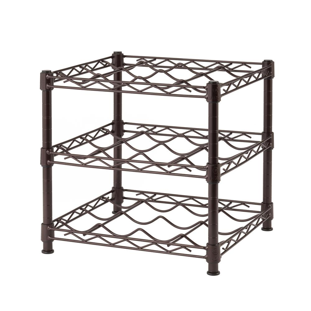 Wine Storage Wire Racks - WIRE Center •