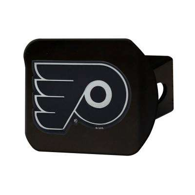 NHL Philadelphia Flyers Class III Black Hitch Cover with Chrome Emblem