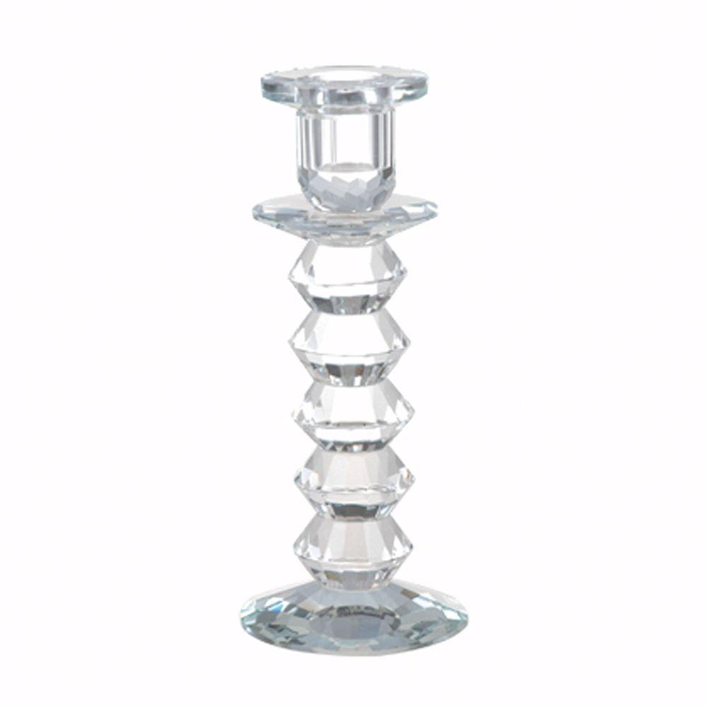 Home Decorators Collection Langley Lead Crystal Candlestick