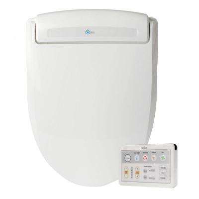 Supreme Electric Bidet Seat for Elongated Toilets in White