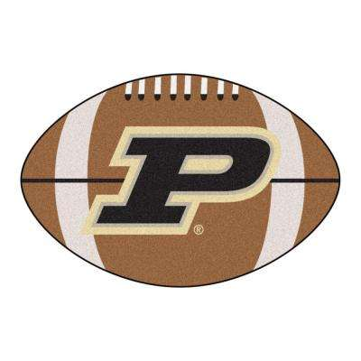 NCAA Purdue University Brown 1 ft. 10 in. x 2 ft. 11 in. Specialty Accent Rug