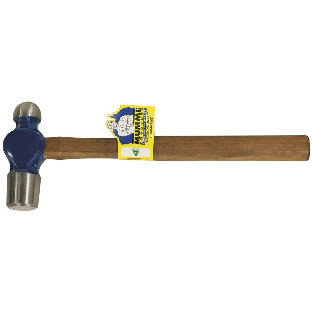 Klein Tools 32 oz. Ball Peen Hammer with Wooden Handle