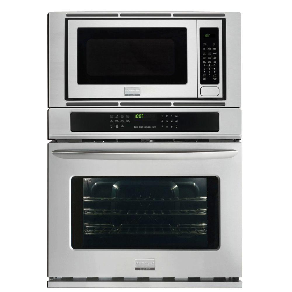 Electric Convection Wall Oven With Built In Microwave Stainless