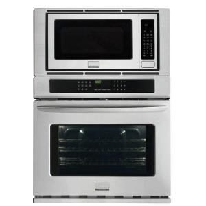 Click here to buy Frigidaire Gallery 30 inch Electric Convection Wall Oven with Built-In Microwave in Stainless Steel by Frigidaire Gallery.