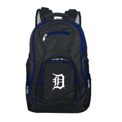 MLB Detroit Tigers 19 in. Black Trim Color Laptop Backpack