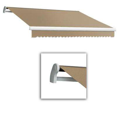 18 ft. LX-Maui Manual Retractable Acrylic Awning (120 in. Projection) in Linen