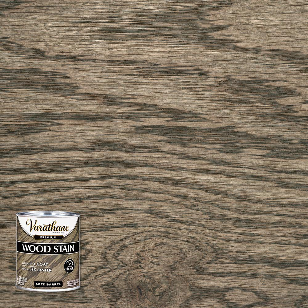 Varathane 1 qt. Aged Barrel Premium Fast Dry Interior Wood Stain