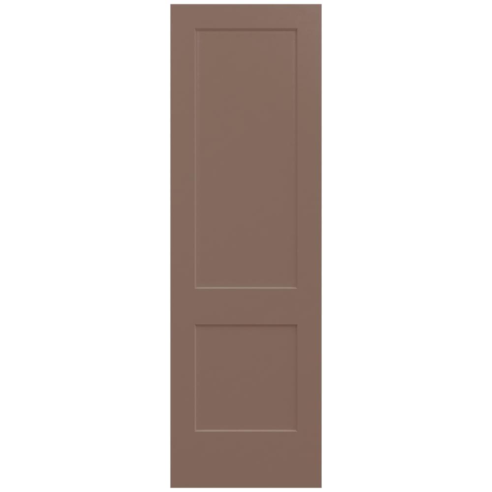 Jeld Wen 32 In X 96 In Monroe Medium Chocolate Painted