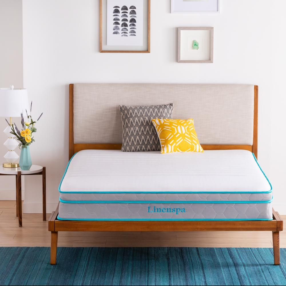 Essentials 6 in. Twin Innerspring Mattress with Protector